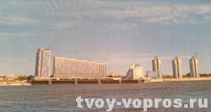 Проект застройки речного вокзала Барнаул
