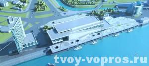Проект речного вокзала Барнаул