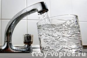 Пьем воду из под крана