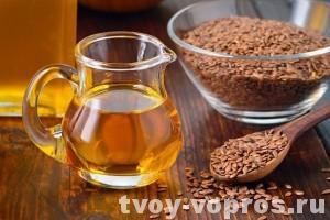 Льняное масло - хорошее средство от многих болезней