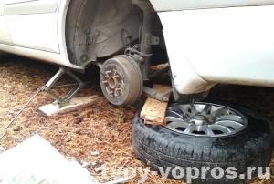 Замена колодок на авто